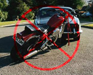 The Motorcycle Tow Bracket Secure Tow No Stress
